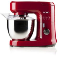 DOMO DO9145KR Keukenmachine 700W met blender en groentensnijder rood