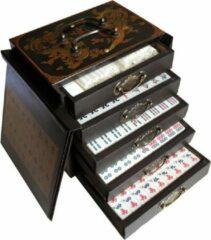 TA-HWA Mah-Jong in houten kist zwart S
