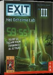 999 Games EXIT Het Geheime Lab - Escape Room - Bordspel
