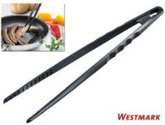 Zwarte Westmark Braad- en Serveerpincet - 31 cm - Zwart