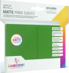 Gamegenic Matte Prime Sleeves groen (100)