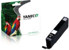 Zwarte YANEC CLI-551BK XL ZWART (CANON)