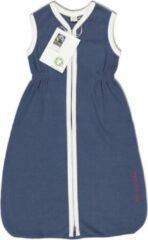 Marineblauwe With a touch of Rose – Slaapzak – Navy - 6 tot 24 maanden - Biologisch katoen – Fairtrade
