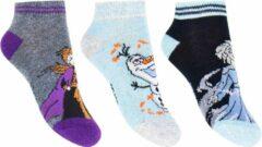 Disney Frozen Sneaker Sokken 3-Pack maat 23-26
