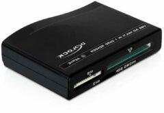 Zwarte Delock - Card Reader USB3.0 - All in One