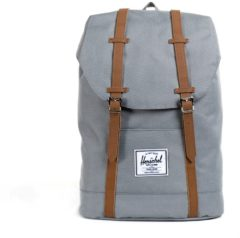 Grijze Herschel Supply Co. Retreat Rugzak grey/tan Laptoprugzak
