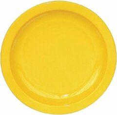 Kristallon polycarbonaat borden 17,2cm geel - 12