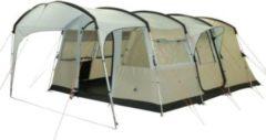 10-T Outdoor Equipment 10T Sorrento 6 - 6-Personen Tunnel-Zelt mit Vordach teilbare Schlafkabine Voll-Bodenwanne WS=5000mm
