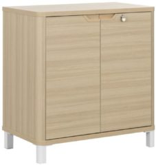 Gamillo Furniture Archiefkast Absolu 83 cm hoog in eiken