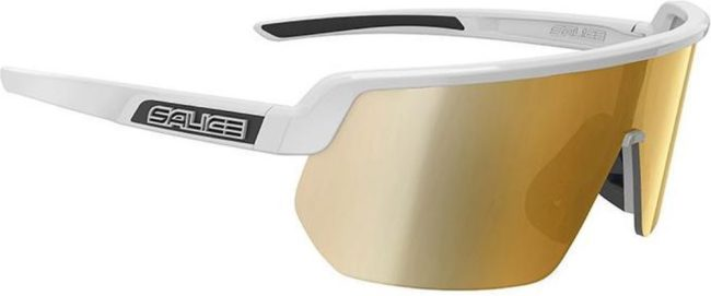 Afbeelding van Gouden Salice Fietsbril 023 RW White/Gold