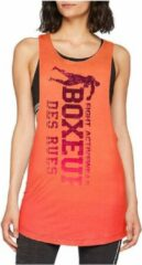 Boxeur Des Rues WOMAN OVERSIZE TANK TOP WITH VERTICAL LOGO