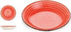 Gural Ent color Set 6 Diep bord 20cm Rood 618684