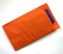 VerraXL Cadeauzakjes Oranje Kraftpapier - 7x13cm - 70gr - 250 stuks | Fourniturenzakjes / Kadozakjes / Geschenkzakjes