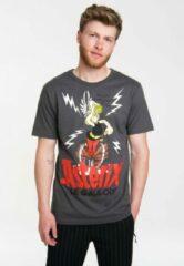 Grijze Logoshirt Heren T-shirt EU42