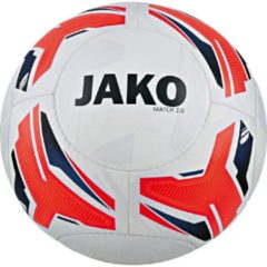 Jako Trainingsbal match 2.0 042788 wit