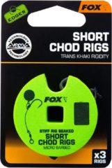 """Fox Edges A.Point Beaked Chod Rig Short - Barbless - 25lb - Mt 8 - """