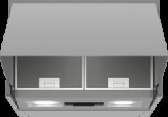 Bosch Serie 2 DEM66AC00 afzuigkap 620 m³/uur Semi-inbouw (uittrekbaar) Roestvrijstaal B