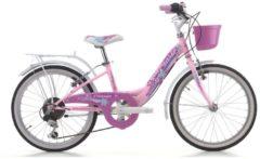 Cicli Cinzia 20 ZOLL CINZIA CANDY GIRL MÄDCHEN FAHRRAD 6-GANG Kinder pink
