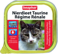 Beaphar Nierdieet Kat 100 g - Kattenvoer - Taurine - Kattenvoer