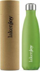 Thermosfles drinkfles 500 ml groen Laken, dubbelwandig RVS