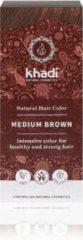 Bruine Khadi Medium Brown - Haarverf - Haarkleuring - Biologisch - Henna