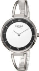 Boccia Titanium 3260-01 Horloge - Titanium - Zilverkleurig - 34 mm