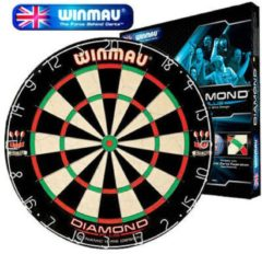 Rode Winmau Dartbord Diamond WiRood
