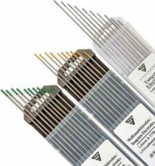 STAHLWERK Set wolfraam elektroden grijs, groen, goud 1,6 mm elk 10 stuks.
