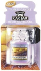 Paarse Yankee Candle Lemon Lavender Car Jar Ultimate