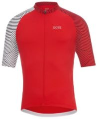 Rode Gore C5 Optiline Jersey Green/White L - Fietstruien (korte mouwen)