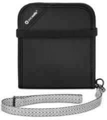 Pacsafe - RFIDsafe V100 - Portemonnees maat One Size, zwart/grijs