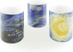 Blauwe Lanzfeld (museumwebshop.com) Wind lichtjes, Vincent van Gogh, Sterrennacht