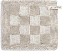 Knit Factory Pannenlap Block - Ecru/Linnen