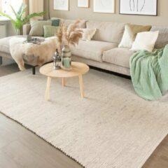 Fraai Wollen vloerkleed Wise - Wit/Gemeleerd No. 367 200x300cm