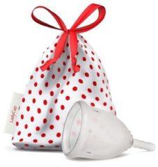 Ladycup Menstruatie cup transparant maat S 40 mm 1 Stuks