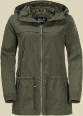 Jack Wolfskin Saguaro Jacket Women Damen Reise- und Freizeitjacke Größe M woodland green