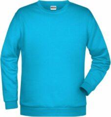 James & Nicholson James And Nicholson Heren Basis Sweatshirt (Turquoise)