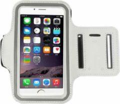 Go Go Gadget Sport Armband - Universeel - Verstelbaar - Hardlooparmband - Spatwaterdicht - Bescherming - Lichtgewicht - 78 x 150 mm (4,7 inch) - Wit