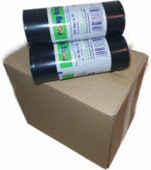 Zwarte Romy Bags 120L Vuilniszakken, 1 Doos van 16 Rollen, 160 Zakken Eco Friend 100% recycled