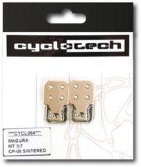 Cyclotech Components Prodisc Metal Remblokken voor Magura MT7