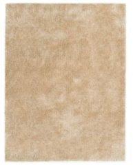 VidaXL Vloerkleed shaggy hoogpolig 160x230 cm beige