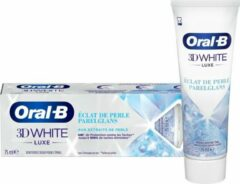 Oral-B 3D White Luxe Pearl Glow Whitening Tandpasta - Voordeelverpakking 12 x 75ml