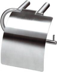 Roestvrijstalen Intersteel Aqua - rolhouder met klep - RVS - 0035.762503