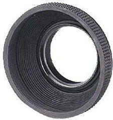 Grijze MediaRange Hama Rubber Lens Hood f/ Standard Lenses, 49 mm Grijs lenskapje