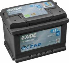 Exide Technologies Exide EA612 Premium Carbon Boost 12V 61 Ah 600A Autobatterij 3661024034272