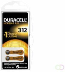 Bruna Batterij Duracell Hearing DA312 O7,9mm 180mAh 6 stuks