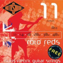 Rotosound Roodo roods R11 11-48 nikkel Medium e1 dubbelt