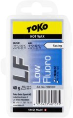 Blauwe Toko Ski/Snowboard Wax - Hot Wax Blue - Low Fluor - Warm - 40 gram