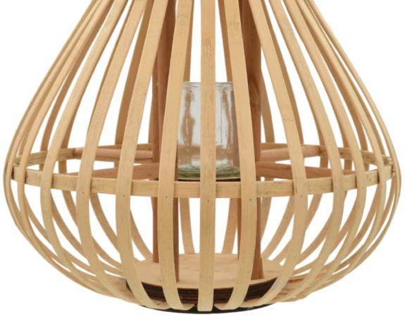 Afbeelding van VidaXL Lantaarnhouder hangend bamboe natuurlijk