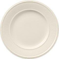 Gebroken-witte Wedgwood Edme ontbijtbord 20 cm